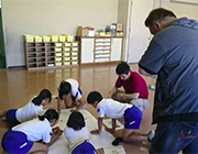 小学校ねぷた訪問指導②