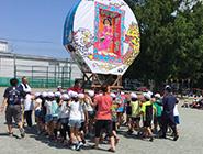 第7回 尾島小学校ねぷた指導
