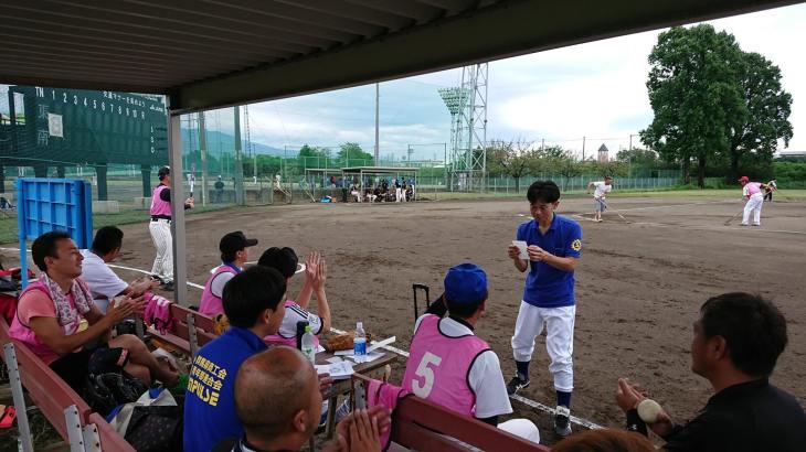 県青連野球大会