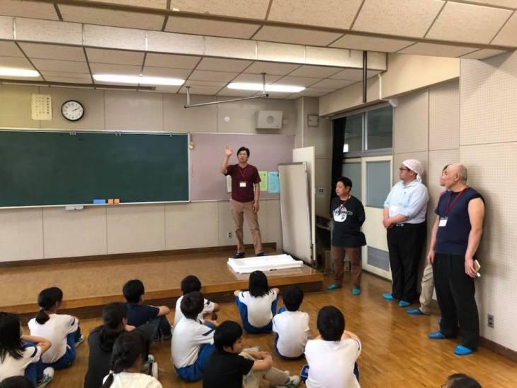 第2回小学校ねぷた訪問指導
