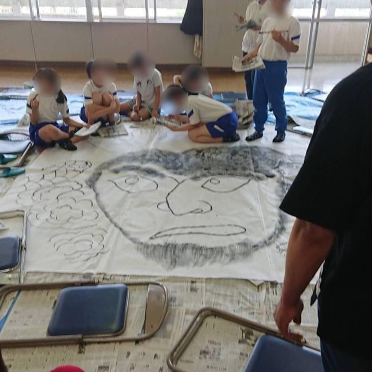 第4回小学校ねぷた訪問指導