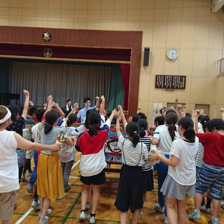 第7回小学校ねぷた訪問指導