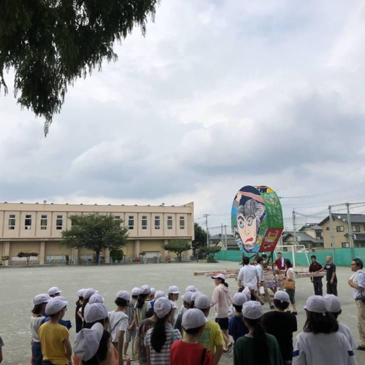 第8回小学校ねぷた訪問指導