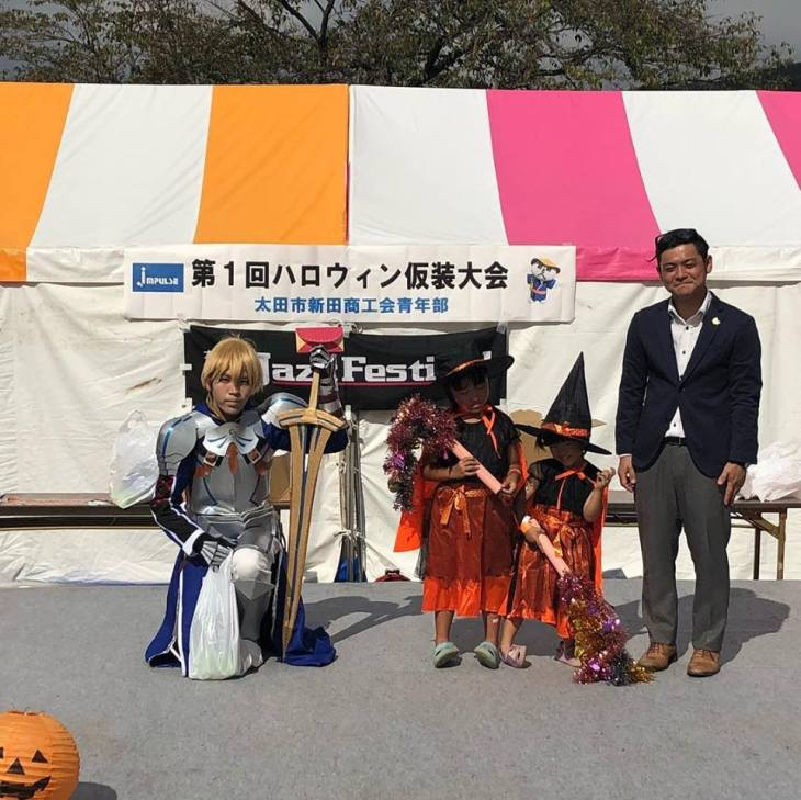 第1回ハロウィン仮装大会