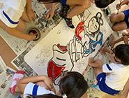 第4回 尾島小学校ねぷた訪問指導