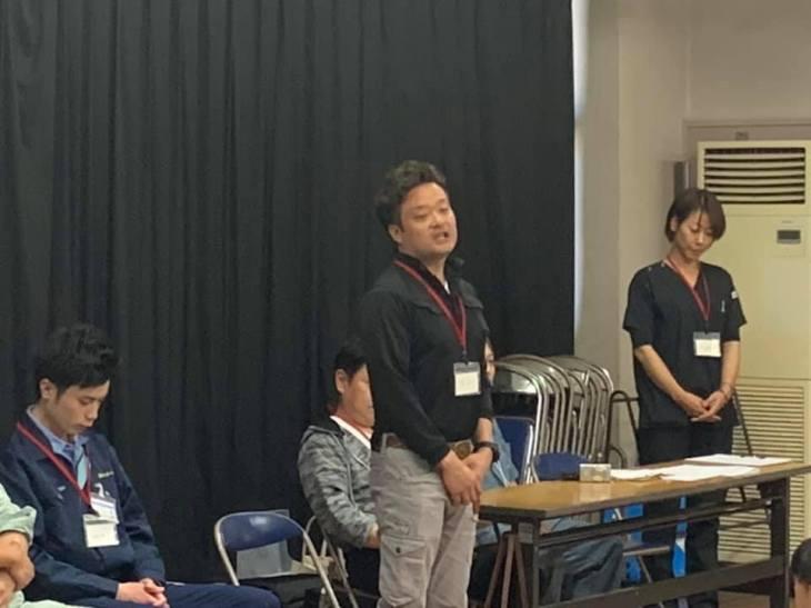 尾島小学校ねぷた訪問指導